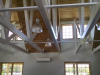 Exposed ceiling structure